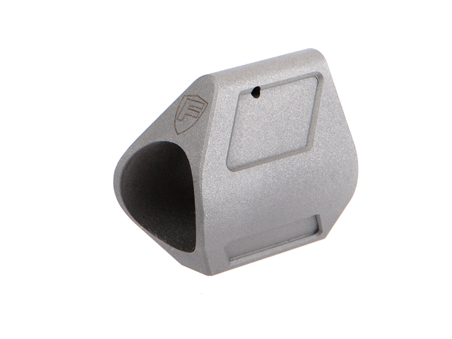 Fortis Low Profile Gas Block - Stainless Steel