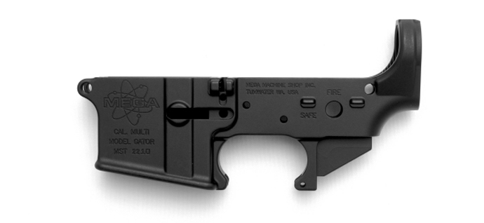 MEGA ARMS FORGED LOWER RECEIVER