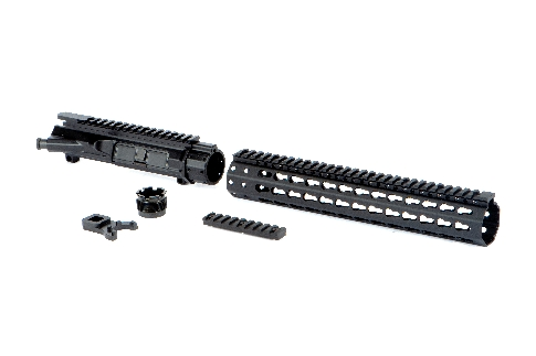 MEGA ARMS MKM AR-15 UPPER RECEIVER AND MID LENGTH KEYMOD HANDGUARD SET