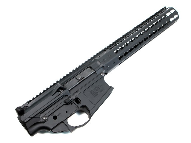 MEGA ARMS MATEN 308 MKM RIFLE LENGTH KEYMOD UPPER, AMBI LOWER SET