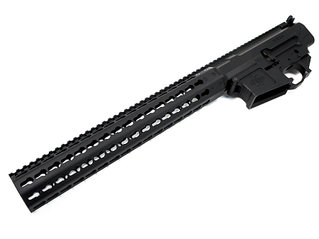 MEGA ARMS MATEN 308 MKM EXTENDED RIFLE LENGTH KEYMOD UPPER, AMBI LOWER SET