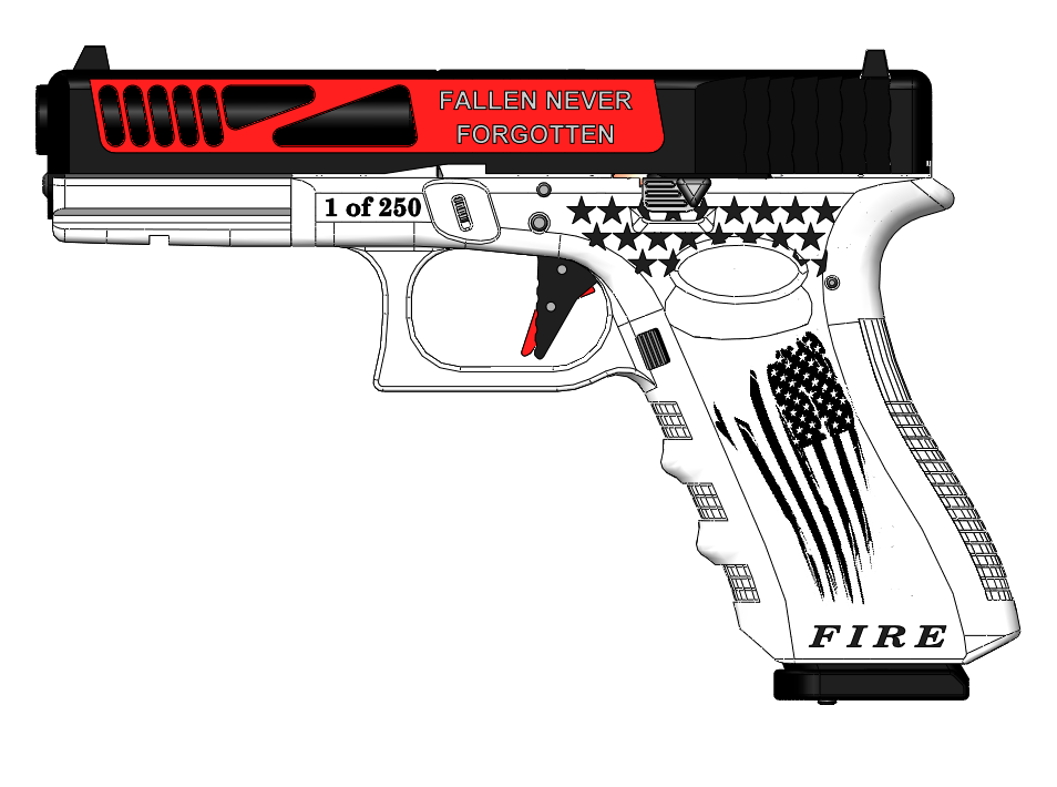 Thin Red Line Glock Serial #1 Entry