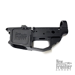 New Frontier C-9 Stripped AR-9 Billet Lower Receiver — Glock Style Magazines