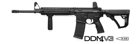 Daniel Defense M4 Carbine, V3 with New DD Furniture